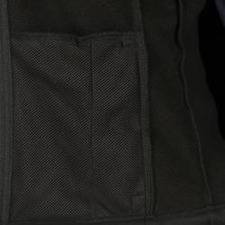 Reit-Softshelljacke 500 Kinder schwarz