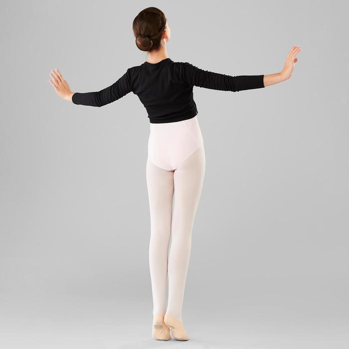 Cache-coeur klassiek ballet meisjes zwart