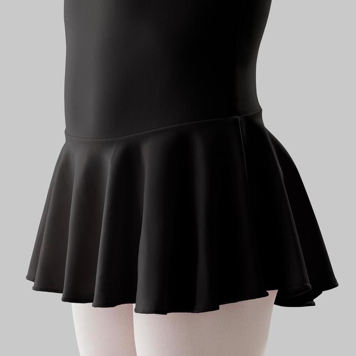 Balletpakje met rokje voor meisjes zwart