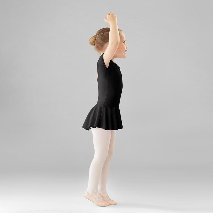Balletpakje met rokje zwart