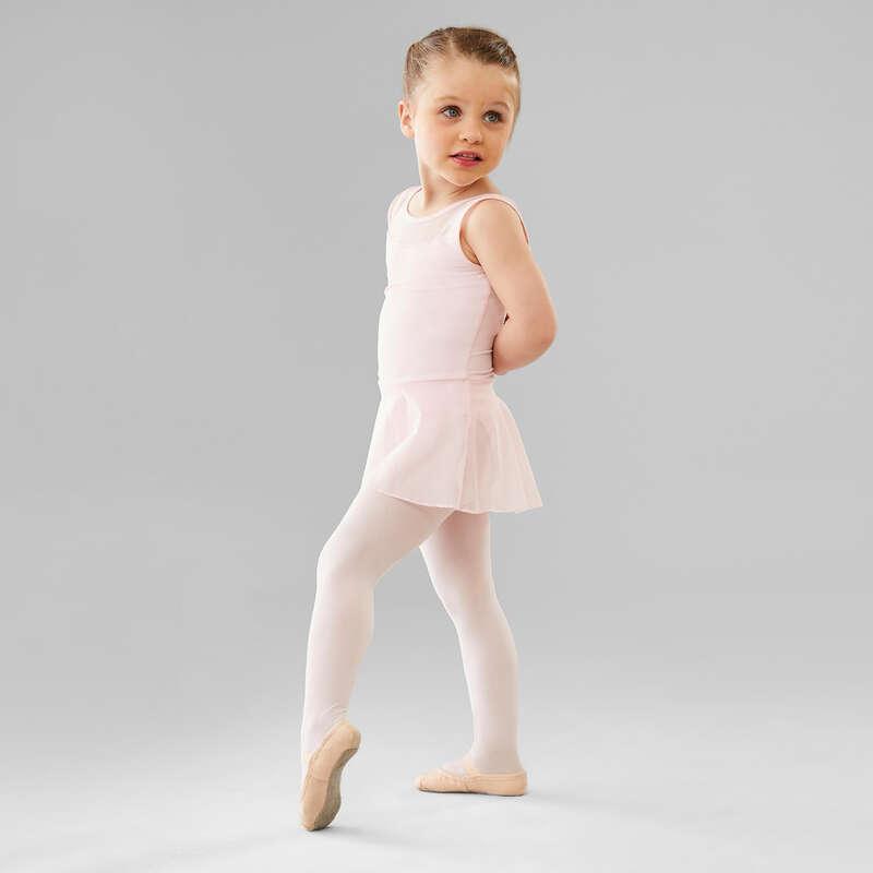 Lány klasszikus balett ruházat Tánc, torna, RG - Szoknyás dressz baletthez DOMYOS - Balett