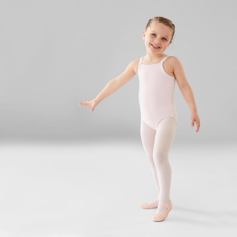 Girls' Ballet Camisole Leotard - Pink