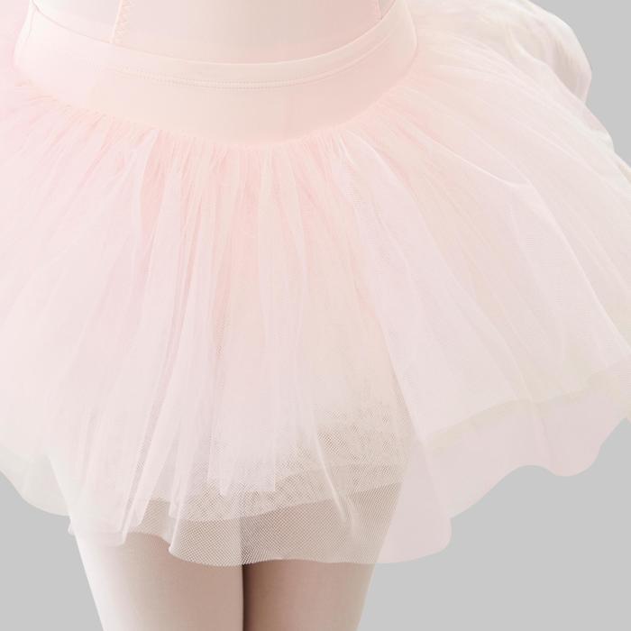 Tutu de Gala de Dança Clássica Rosa Menina