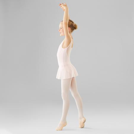Mixed Media Ballet Leotard–Girls