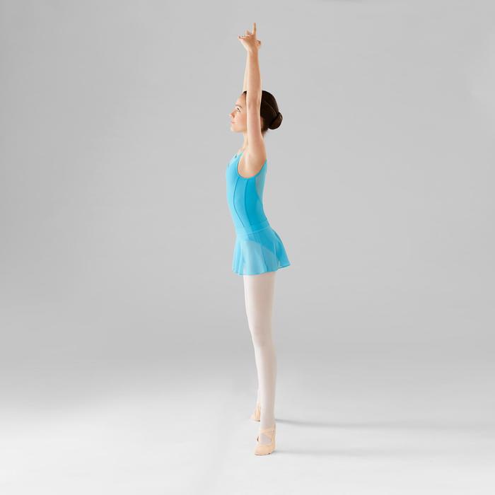 Balletrokje in voile voor meisjes blauw