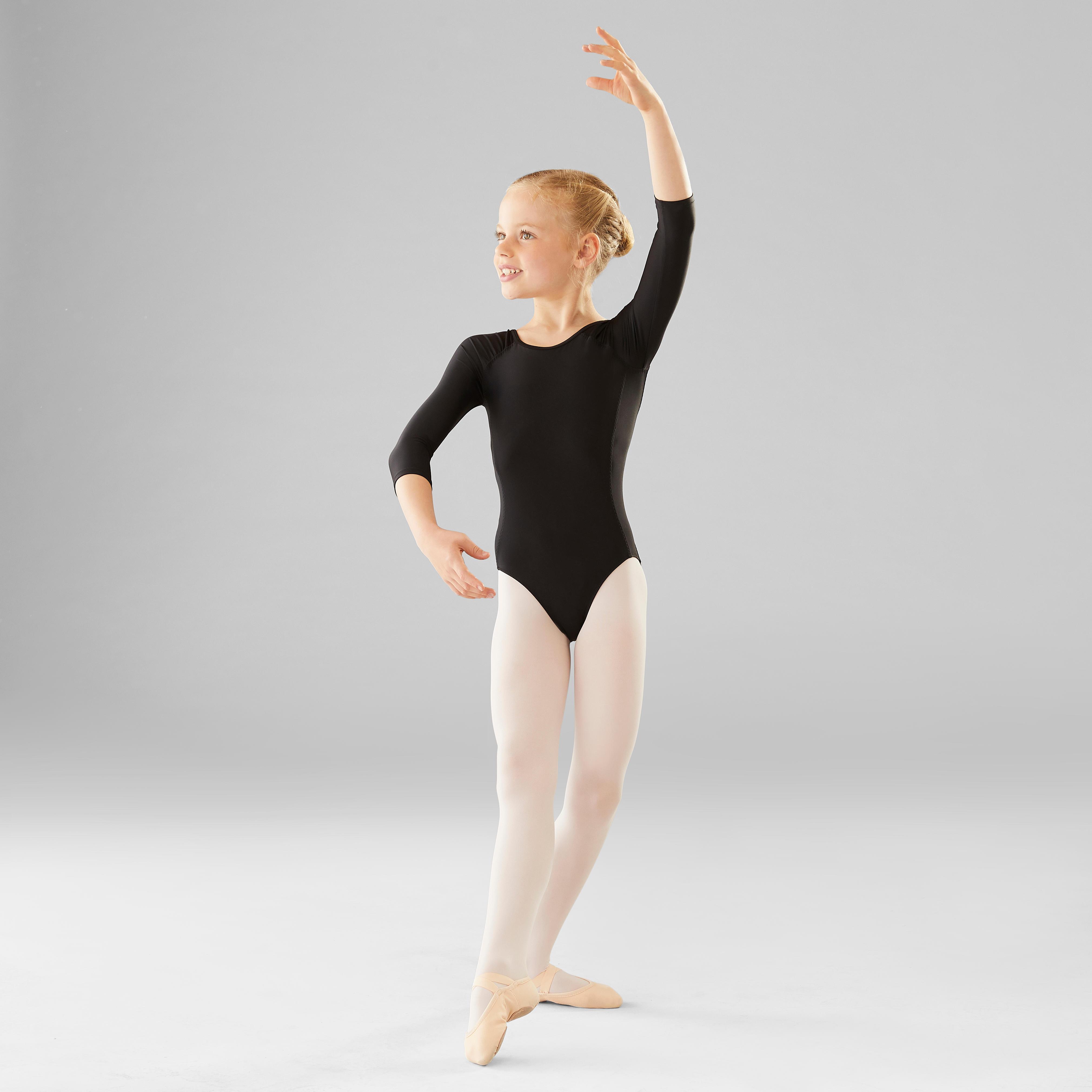 Body balet mânecă lungă fete imagine