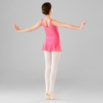 Girls' Voile Ballet Skirt - Fuchsia
