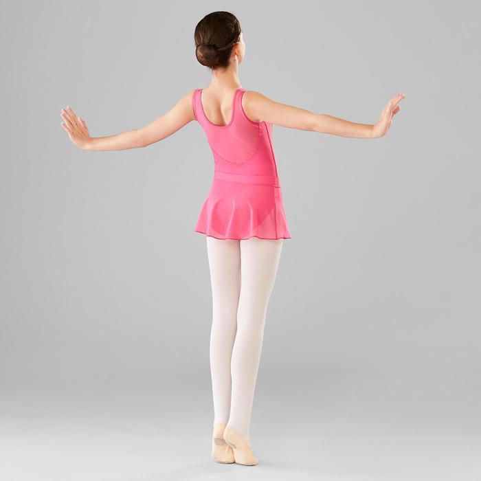 Jupette danse classique fushia en voile fille