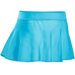 Ballettrock Tüll Mädchen blau