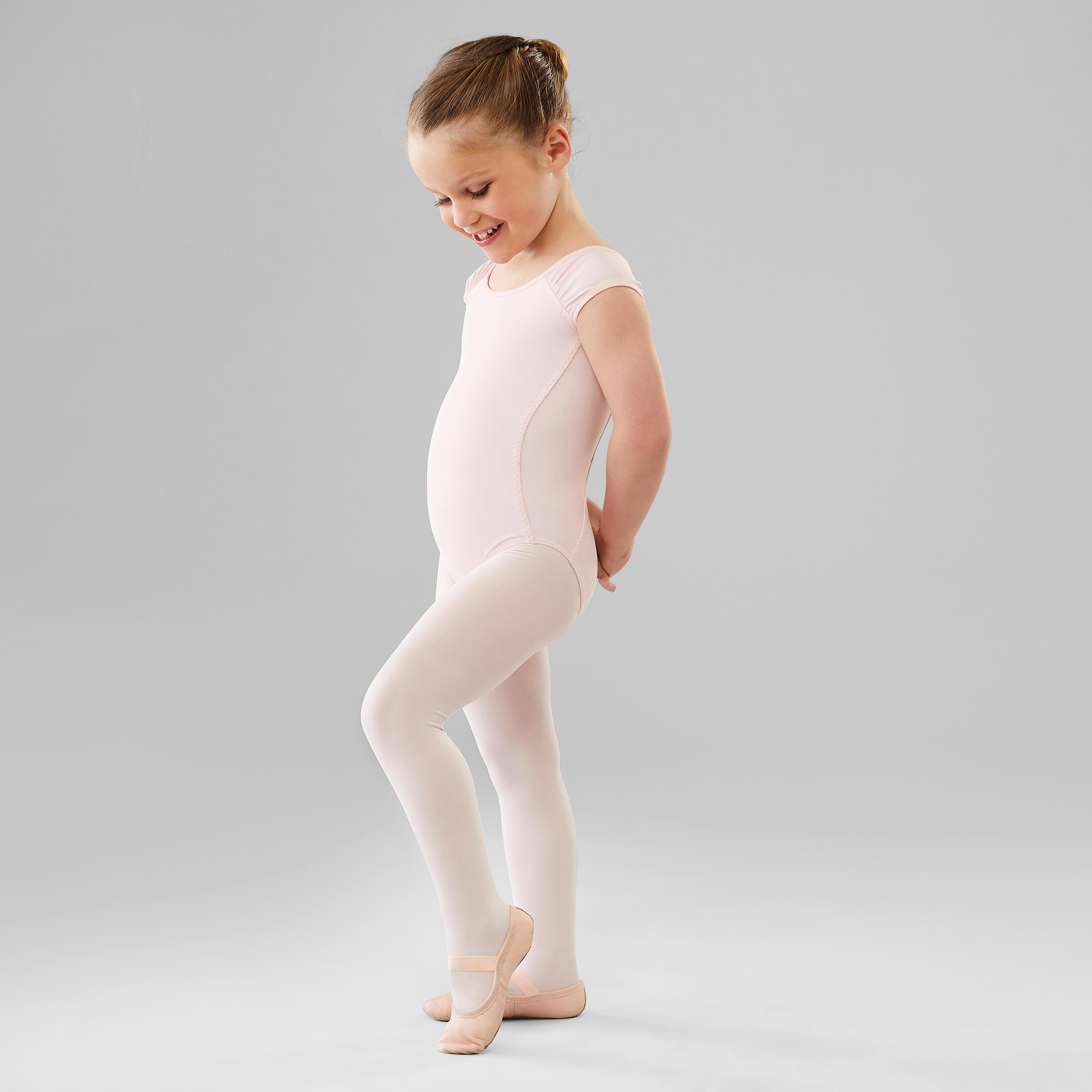 Doubleer Enfants Camisole Sans Couture Gymnastique Justaucorps Filles De Danse Ballet V/êtements