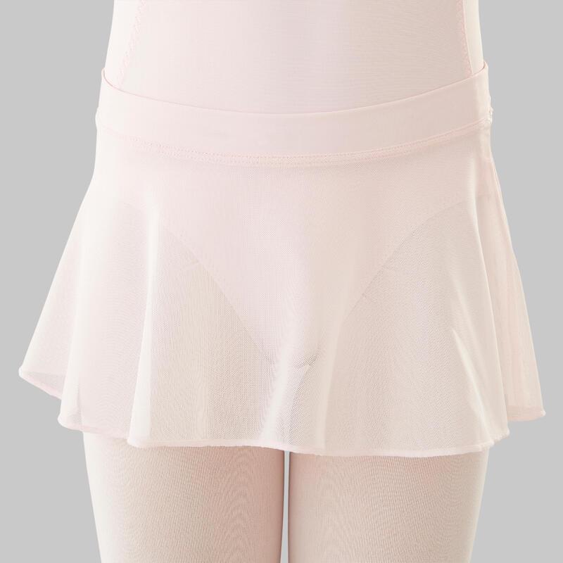 Gonnellino bambina danza classica rosa