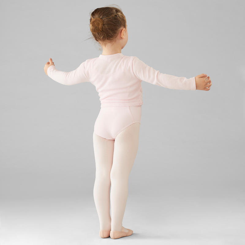 Girls' Ballet Wrap Top - Pale Pink