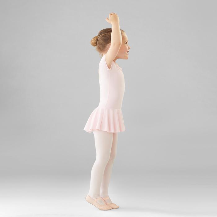 女童芭蕾舞連身舞裙 - 粉紅色