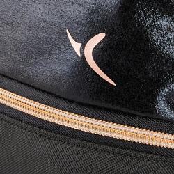 Schwarze Schuhtasche mit vielen Fächern für den Tanzsport