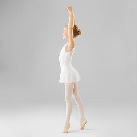 Léotard de danse classique bimatière – Filles