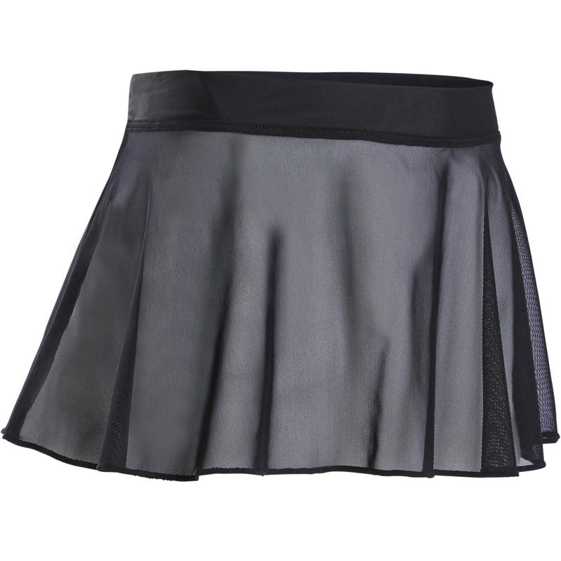 Voile Ballet Skirt Black - Girls