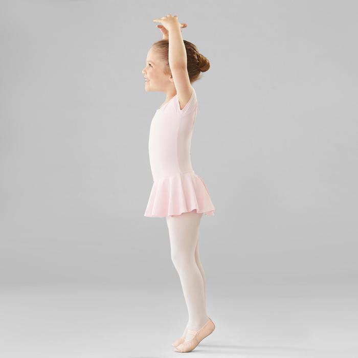Túnica de danza clásica rosa niña