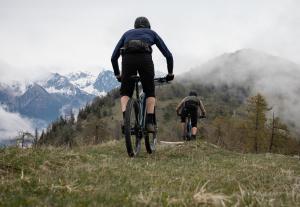 Vélo et trail en entraînement