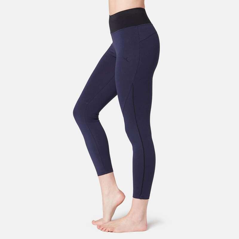 WOMAN T SHIRT LEGGING SHORT - 510 Piped Gym 7/8 Leggings NYAMBA