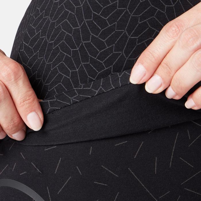 Débardeur 560 brassière intégrée Pilates Gym douce femme noir print