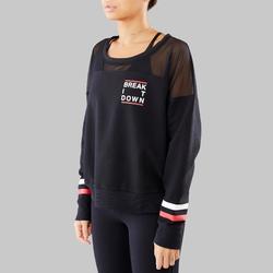Pullover Modern Dance Damen schwarz