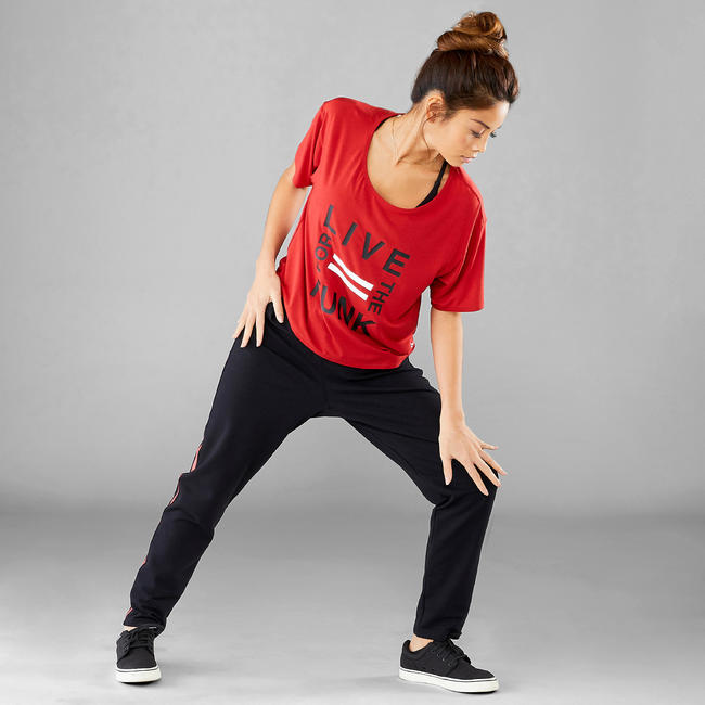 Women's Urban Dance T-Shirt - Red