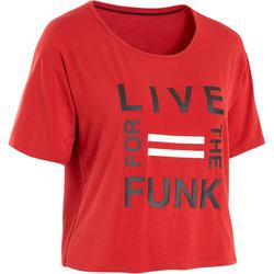 Women's Urban Dance T-Shirt - Red