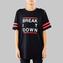 Camiseta danza urbana negro unisex