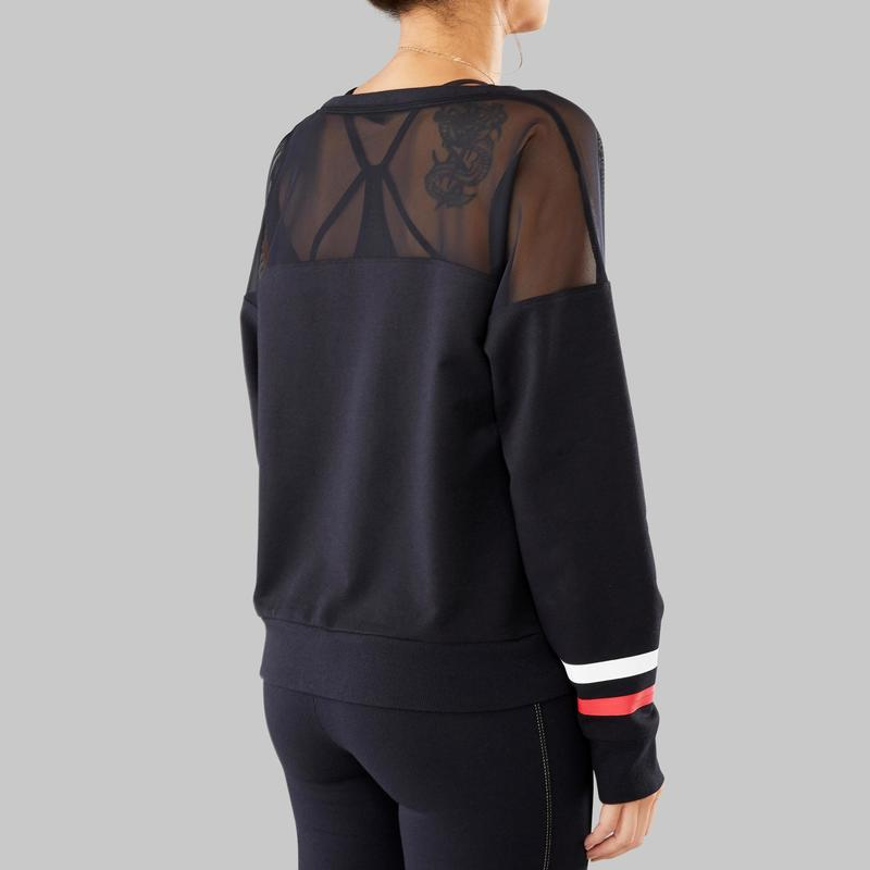 new product c6b9a a4248 - Felpa donna street dance nera