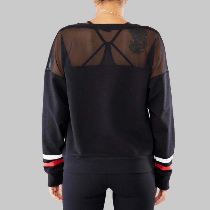 Sweat-shirt de danses urbaines femme noir