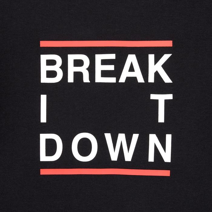 Tee-shirt de danses urbaines noir mixte
