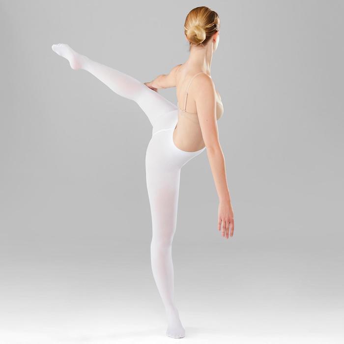 Ballettstrumpfhose Mädchen weiß