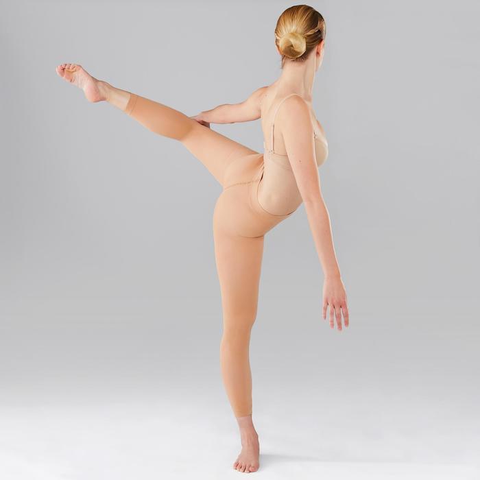 Collants sans pieds de danse classique et moderne femme chairs