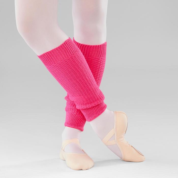 Calentadores Ballet Domyos Niña Rosa magenta