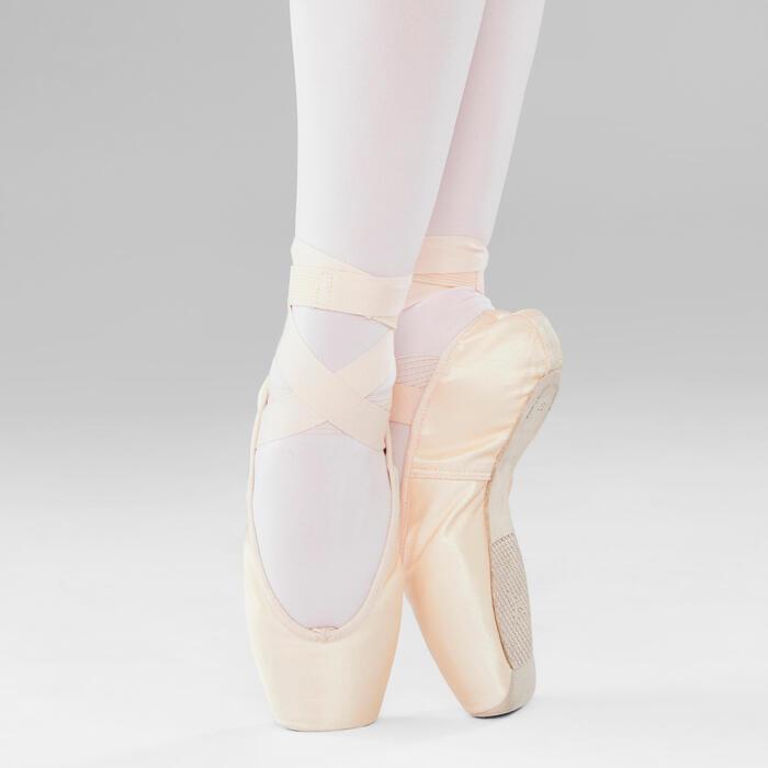 Pointes danse classique à semelles souples pour débuter tailles 33-42