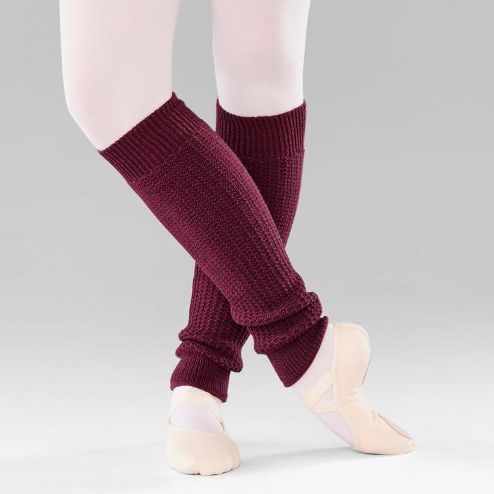 Tanzstulpen für Ballett und Modern Dance Damen pflaume