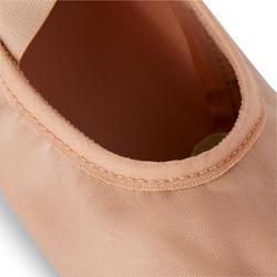 Demi-pointes bi-semelles cuir tailles 41-42