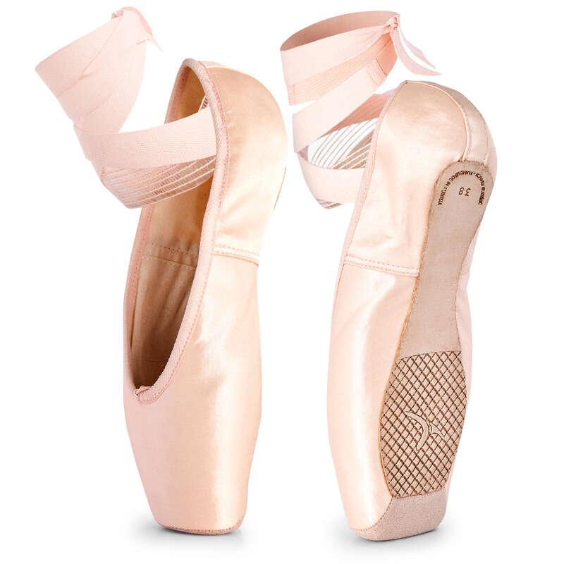 BALLET SHOES Ballet - Flexible Sole Pointes DOMYOS - Ballet