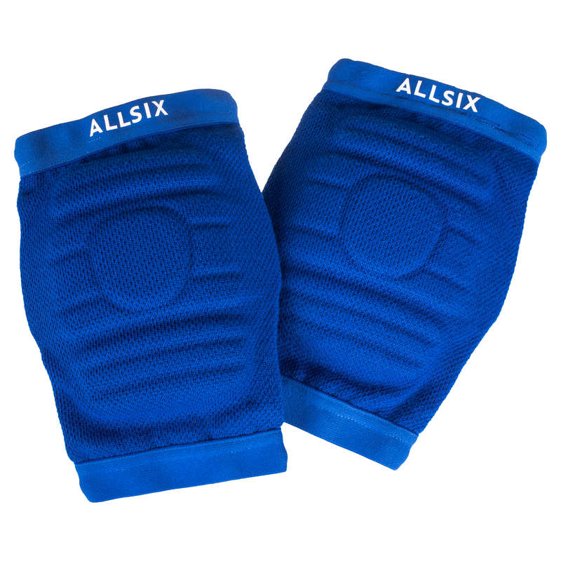 VOLLEY BALL KNEEPADS, ACCESSORIES Volleyball and Beach Volleyball - VKP900 - Blue ALLSIX - Volleyball and Beach Volleyball