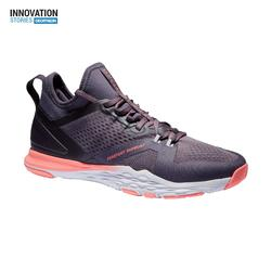 Zapatillas cardio fitness training 920 violeta