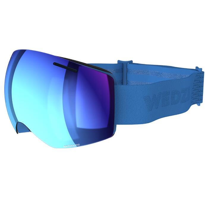 Ski- en snowboardbril voor kinderen en volwassenen G 520 mooi weer blauw