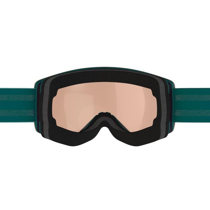 Ski- en snowboardbril voor meisjes en dames G 520 mooi weer blauw