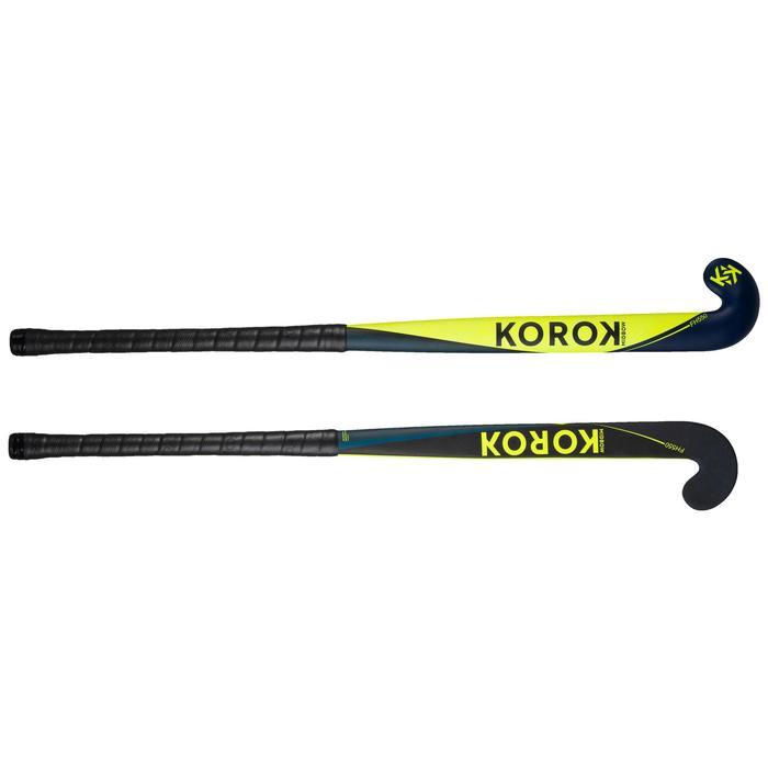 Stick Hockey Hierba Korok FH550 50% carbono adulto amarillo y azul