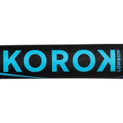 Hockeystick voor volwassen experts low bow 95% carbon FH990 blauw