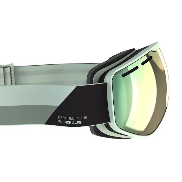 Ski- en snowboardbril voor kinderen en volwassenen G 540 mooi weer blauw