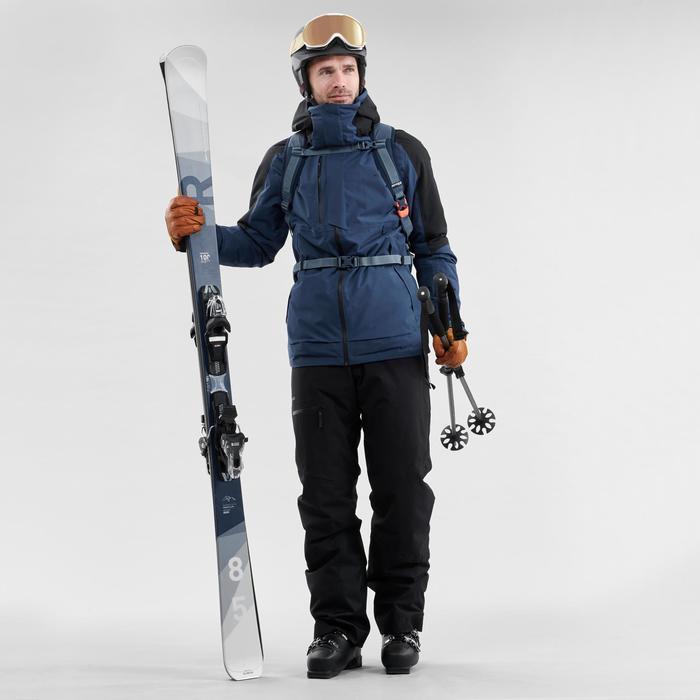MASQUE DE SKI ET DE SNOWBOARD FILLE ET FEMME G 500 I TOUS TEMPS Beige
