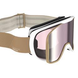 女款與女童全天候雙板滑雪護目鏡G 500 I- 亞洲米