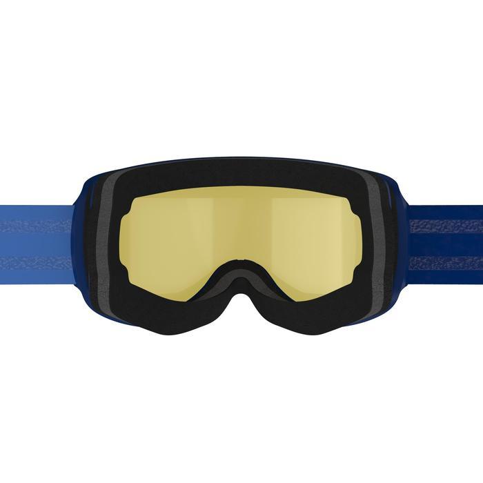 Máscaras y Gafas de Esquí y Nieve, Wed'ze G500 S3, Adulto y Junior, Buen Tiempo
