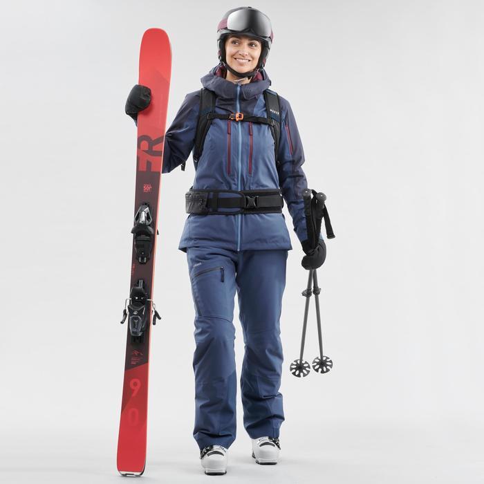 Ski- en snowboardbril voor kinderen en volwassenen G 520 I rood