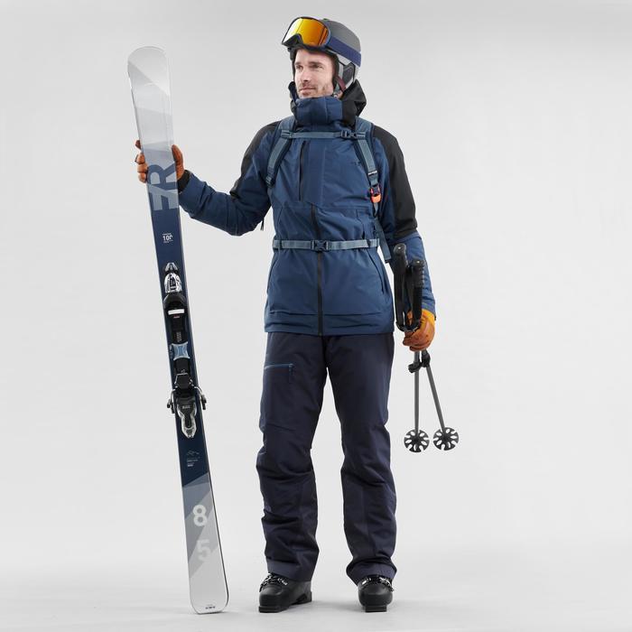 Ski-bril en snowboardbril voor volwassenen en kinderen G 500 zonnig weer blauw